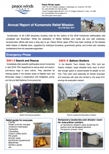 P1_Annual Report of Kumamoto Relief Mission170502
