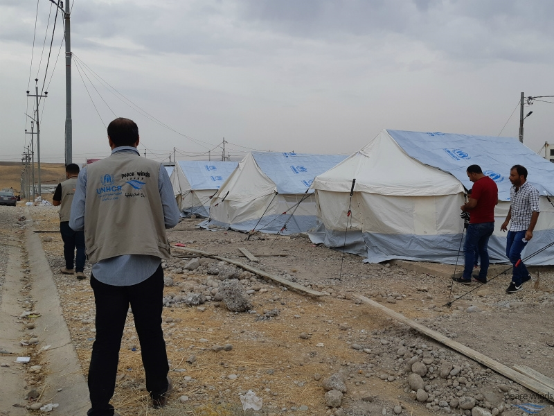 PWJ is working in close coordination with UNHCR as an implementing partner organization.