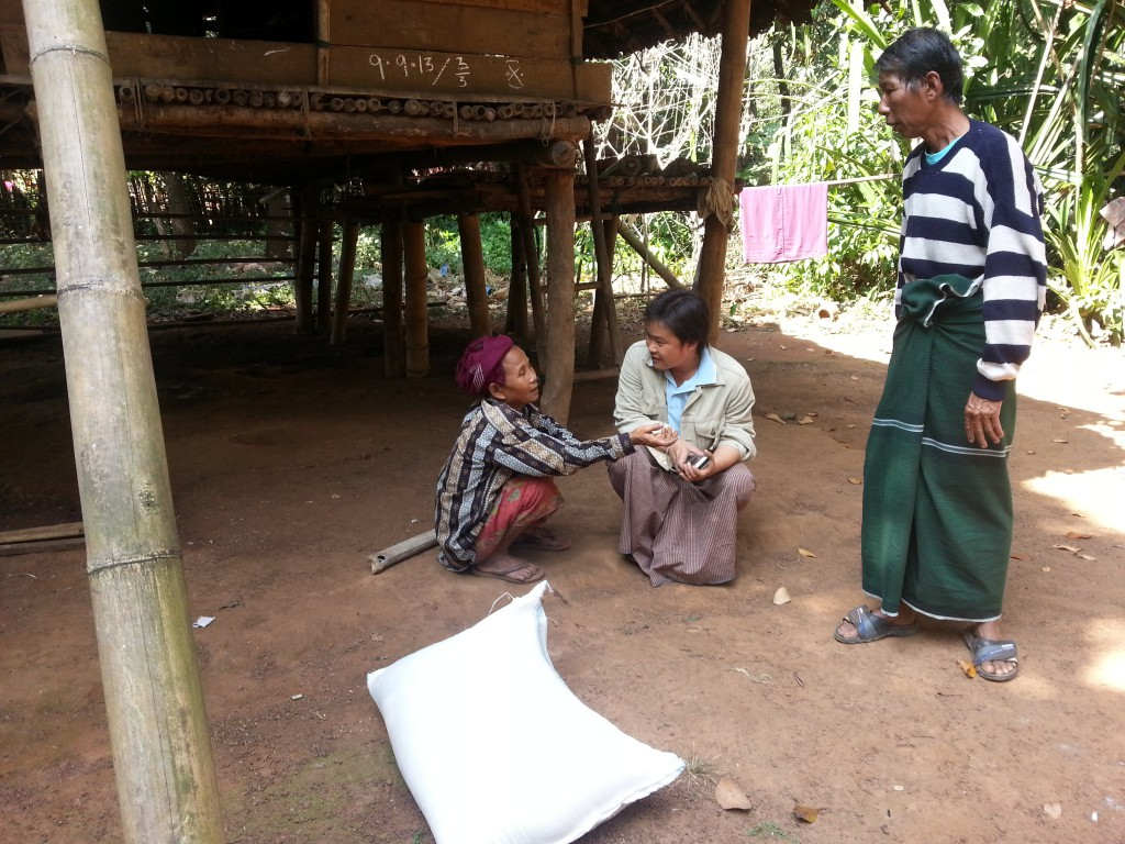 Interview with some of beneficiaries(Win Sein)