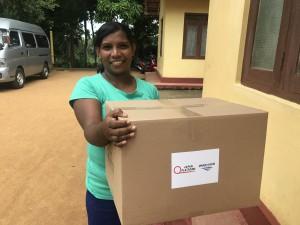 Sri Lanka Kitchen Set beneficiary