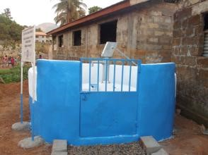 Rehabilitated well (after)