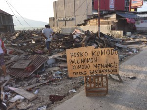 Sulawesi Damaged area