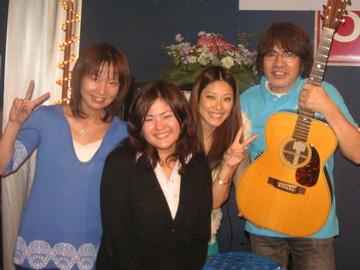 演奏された方々とPWJ山元(写真左から2人目)