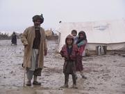 サリプル国内避難民キャンプ(2002年)