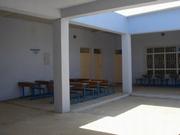 修復された校舎内部