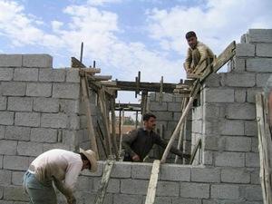 建設が進むハラブジャ母子病院