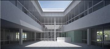 病院の完成イメージ