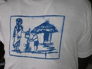 このT-シャツのイラストは何を描いているでしょう?