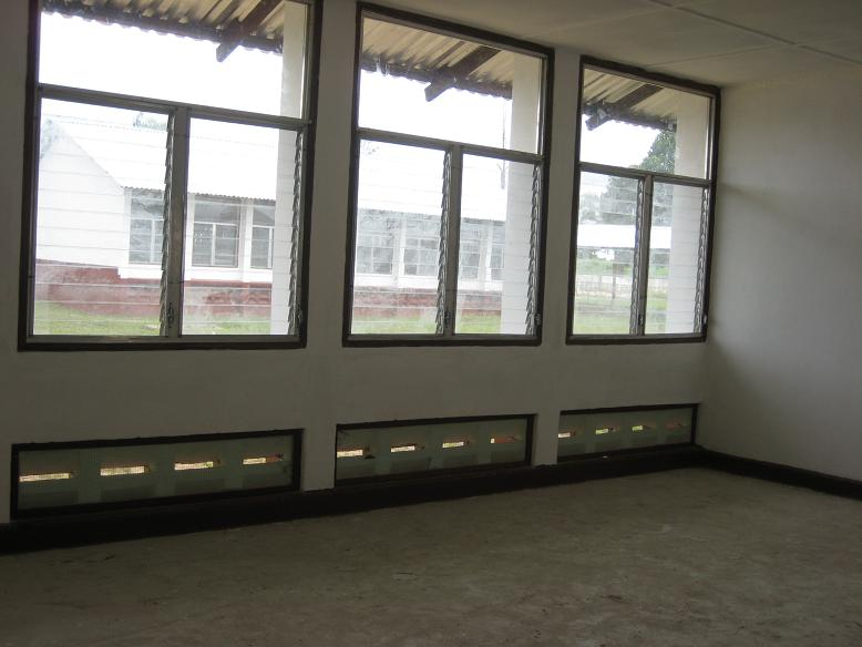 教室の内部