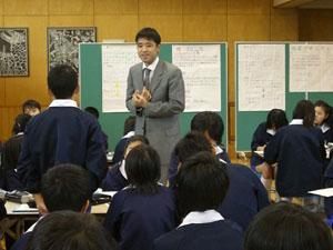 12月17日の授業風景
