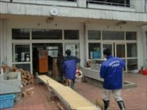 ピースウィンズによる広田町への灯油支援(2011年3月20日)