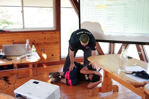 ピースウィンズ・ジャパンの捜索救助訓練 講義