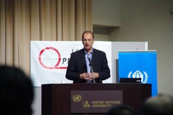 UNHCR駐日事務所代表ヨハン・セルス氏