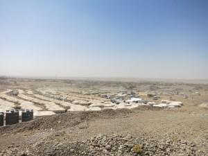 イラクのシリア難民キャンプ 撮影ピースウィンズ・ジャパン