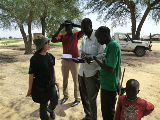 ピースウィンズ・ジャパンの南スーダン事業 現場でのヒアリング