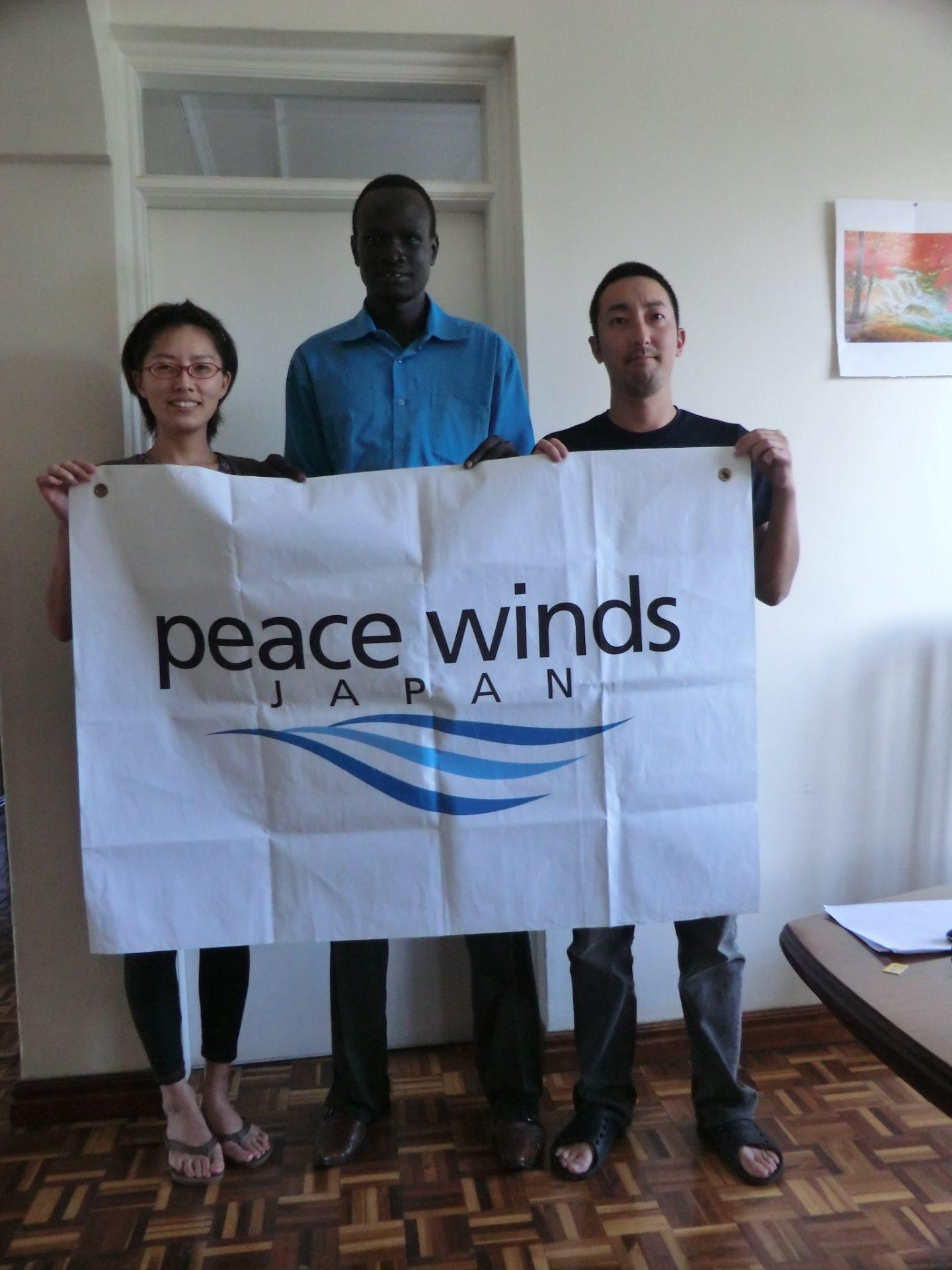 写真2_南スーダン現地スタッフとの再会