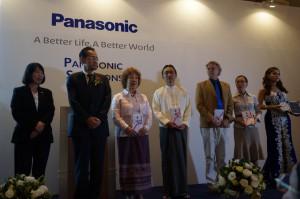 panosonic 寄贈式典2