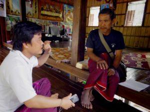 Takayar Village Leader and PWJ Staff
