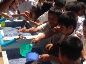 Students & PWJ Water