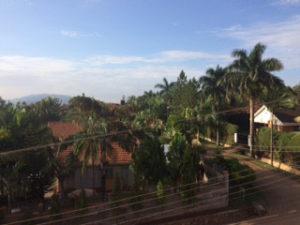 宿から見える風景