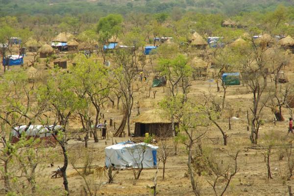 ビディビディ難民居住地区
