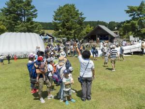 被災地の子どもたちを招待して開催された神石高原町での雪まつり