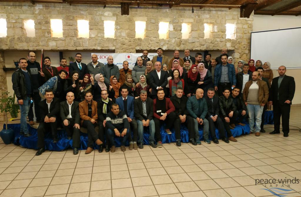 3ヶ所のCTTCのスタッフや関係者を集めたオリエンテーション・ワークショップの参加者