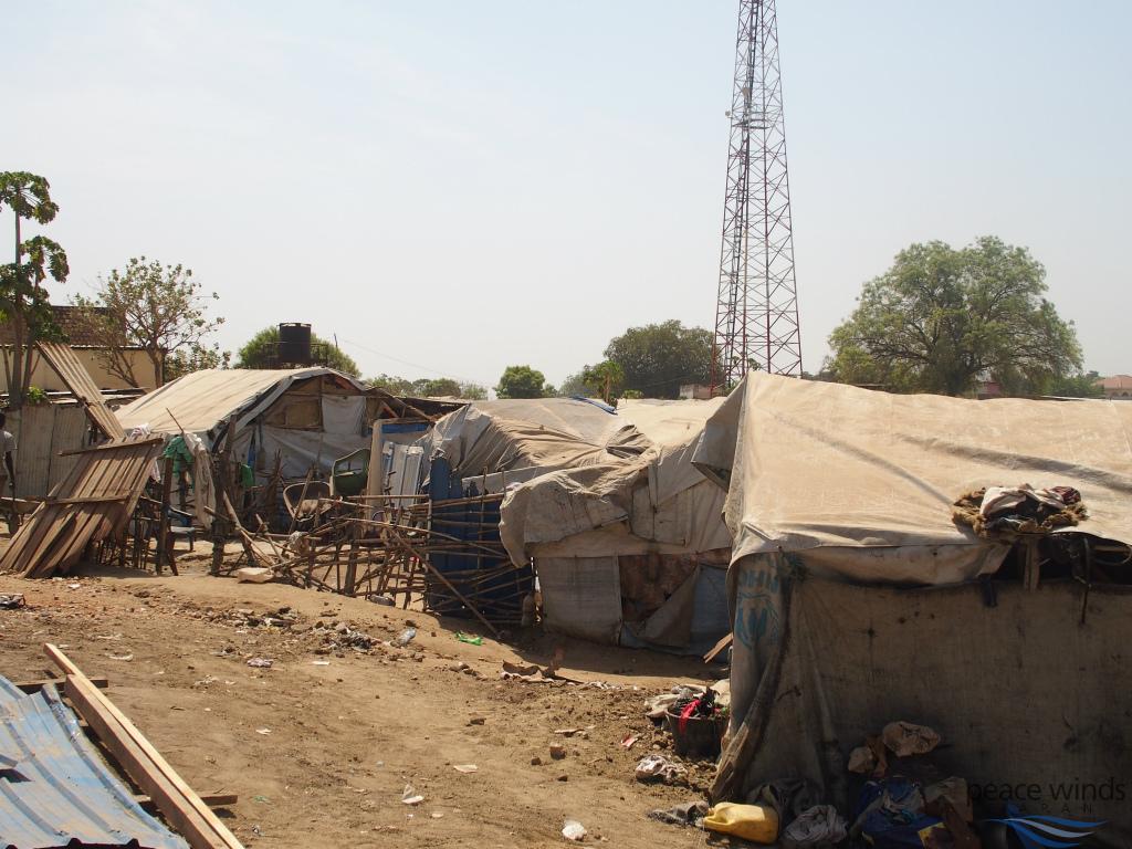 マハド国内避難民キャンプの様子s